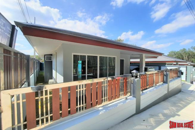 New Three Bedroom Single Storey House with Private Swimming Pool for Sale near Ao Nang Beach
