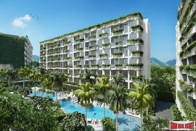 New Eco & Family Friendly Development 700 Meters to the Beach in Layan