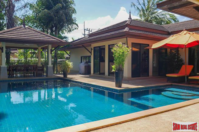 Sea Breeze Villas | Sunny & Bright Three Bedroom Pool Villa for Rent on Quiet Kamala Cul-de-sac