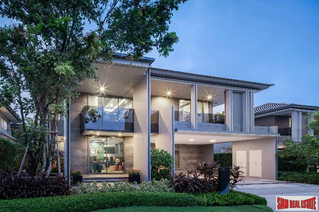 Modern Luxury Villa Estate by Leading Thai Developers at Krungthep Kreetha - 5 Bed Homes