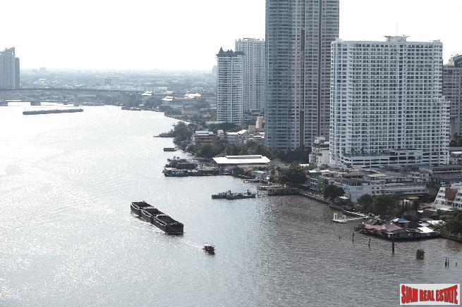 Four Seasons Private Residences Bangkok at Chao Phraya River - 2 Bed Unit on 21st Floor Fully-furnished, Ready to move in!