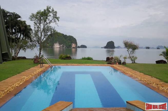 Peaceful Four Bedroom Pool Villa on Hidden Bay in Khao Thong, Krabi