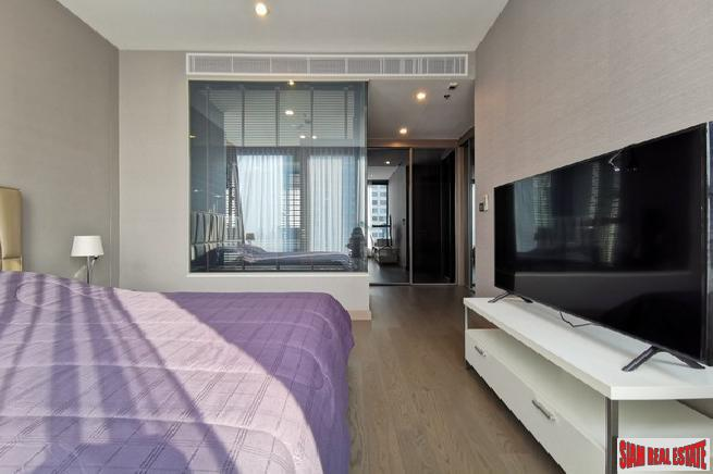 The Esse at Singha Complex | New Modern Two Bedroom Asok Condo for Rent