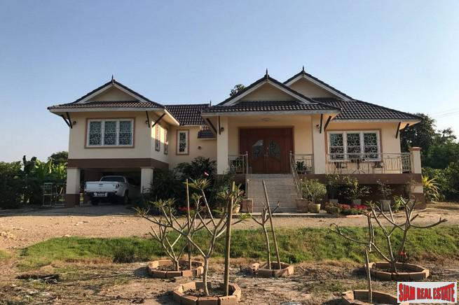 Western style home fully furnished on 2 +rai
