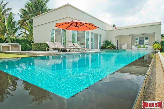 The Vineyard Phase 3 | Outstanding Three Bedroom with Private Swimming Pool and Large Terrace for Sale in East Pattaya