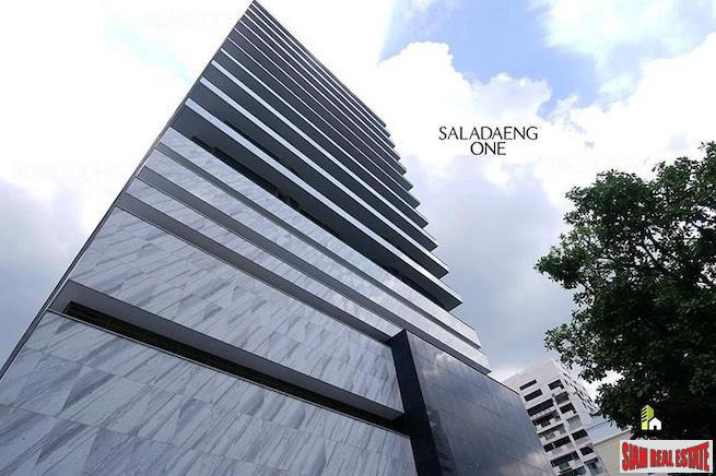 Saladaeng One | Ultra Super Luxury One Bedroom Condo with Lumphini Views for Sale