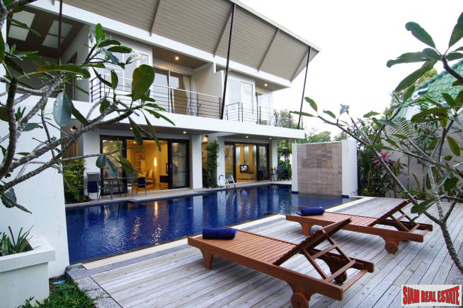 Triplex with Pool and Gardens for Sale in a Extremely Convenient Area near Phuket Town