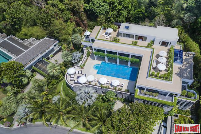 One Waterfall Bay | Ultimate Luxury Pool Villa for Sale Overlooking the Andaman Sea in Kamala
