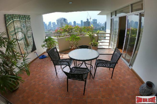 La Cascade  | Large 3 Bed Condo with Open City and Green Views in Excellent Location at Ekkamai