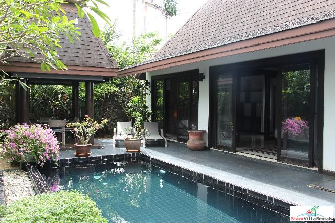 Tropical One Bedroom + Small Bedroom / Office Villa with Private Pool for Sale in Cherng Talay