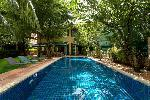 Private Six Bedroom Pool Villa in the Middle of Patong - A True Oasis - Sold with Five Storey Apartment Building to Generate Income