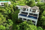 Large Four Storey Sea View Duplex with Five Bedrooms each Unit for Sale near Phuket Town