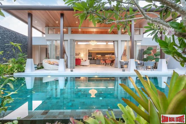 New Luxury Pool Villa Development for Sale in a Private Cherng Talay Location
