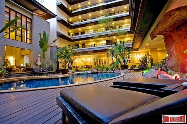 Nirvana Place Condo |  Very Spacious One Bedroom Condo  in Low Density Apartment for Sale in Pattaya City