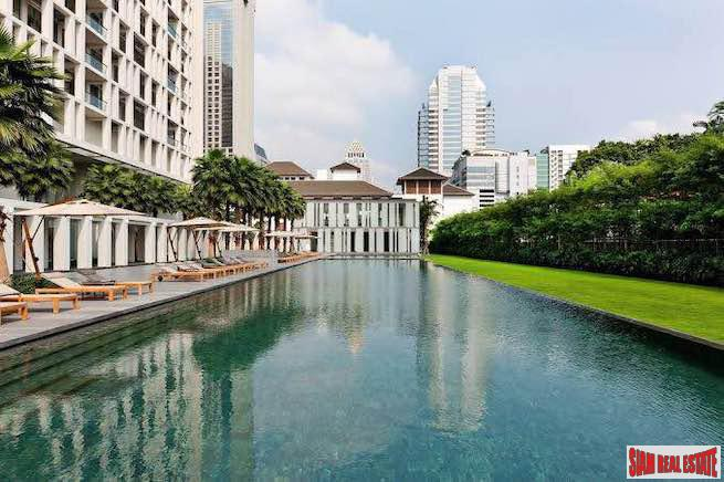 The Sukhothai Residence | Ultimate Luxury Three Bedroom Condo for Rent in Sathorn