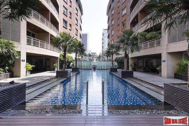 The Rise Sukhumvit 39 | Two Bedroom with Pool View in a Phrom Phong Low Rise Condo
