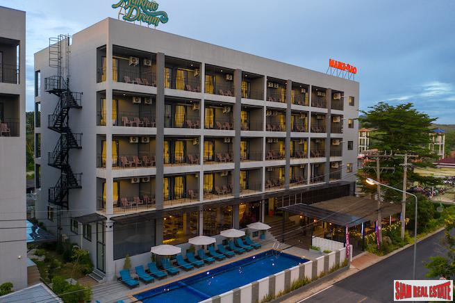 Popular Full Service Hotel for Sale within Walking Distance to Mai Khao Beach