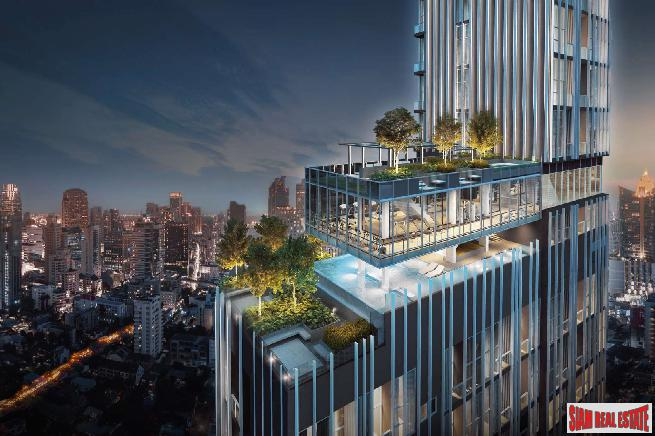 Penthouse Units at New Exciting High-Rise Condo at Asoke - 78.6 Sqm