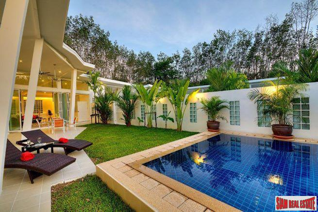 Banana Villa | Trendy Three Bedroom Pool Villa  for Rent with Wonderful Outdoor Area