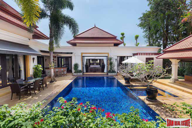 SaiTaan Garden Villa | Private Luxury Four Bedroom Pool Villa for Sale in Bang Tao