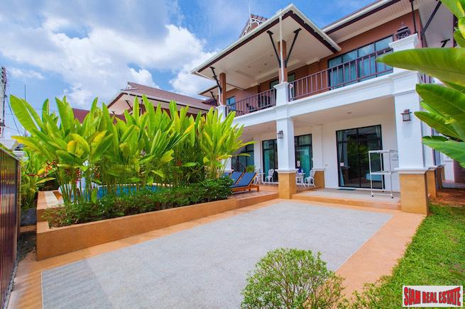 Two Storey Four Bedroom Modern House for Sale only 5 Minutes from Ao Nang Beach