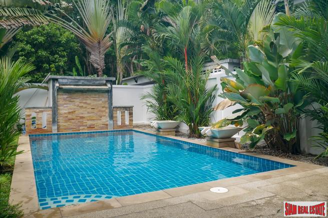 Spacious Four Bedroom Two Storey House with Pool for Sale in a Quiet Area of Rawai
