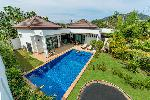 Three Bedroom Private Pool Villa for Sale in a Quiet Natural Area of Rawai
