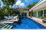 Modern Spacious Three Bedroom Private Pool Villa  ins Small Secure Rawai Estate