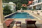 Large Four Storey / Six Bedroom House with Sea & Big Buddha Views + Shared Swimming Pool for Sale in Kata