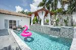 Tamarind Villas | Luxury Four Bedroom Pool Suite for Rent in Chalong