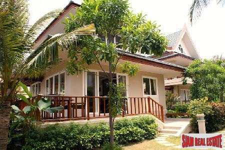 Thai Style contemporary homes situated on beachfront Cha Am