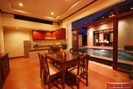 Beautifully styled 2 bedroom pool 7