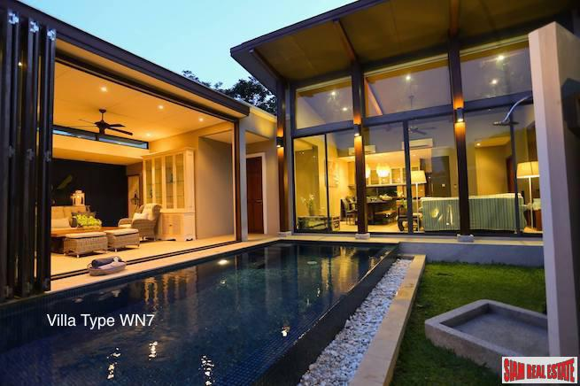 Exciting New Villas with Private Pools for sale Cherng Talay - Last 3 Plots!!