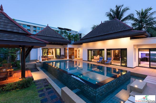 Stylish pool villa near Surin Beach