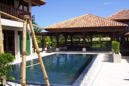 A Balinese Style Pool Villa in Golf Course Community
