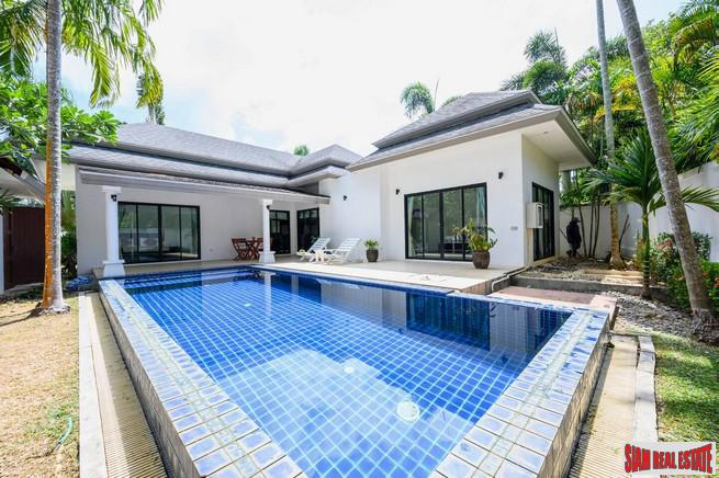 Quality Nai Harn Three Bedroom Pool Villa for Rent