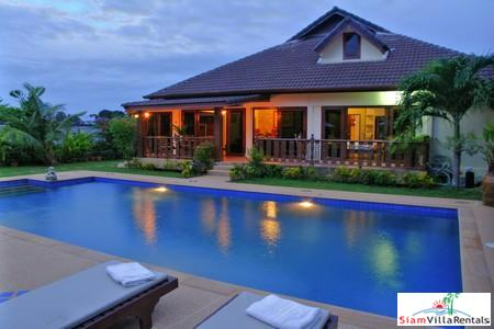 Family pool villa for holiday rental