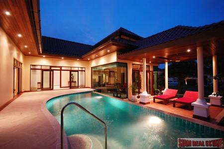 Beautifully styled 3 bedroom pool villas for rent