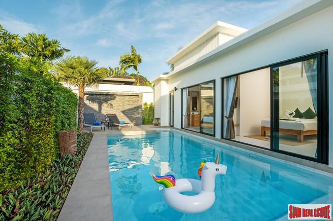 Brand New 3 bedroom private pool villas, Phuket