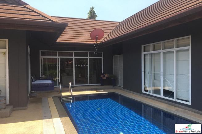Baan Rim Tarn |  2+1 Bedroom Home With Large Garden And Pool for Rent in Cherng Talay