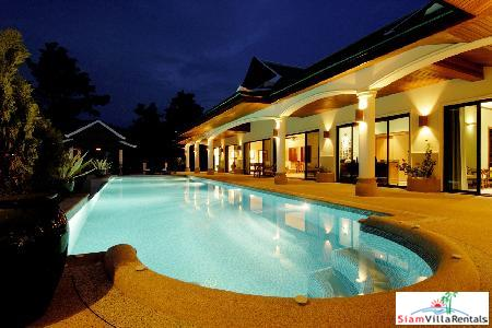 Spacious and Pristine 6 Bedroom Villa in quiet and convenient location close to Nai Harn beach.