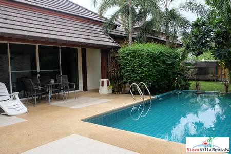 Well Maintained Single Story Villa With Pool, Waterfall and 3 Bedrooms , Nai Harn, Phuket