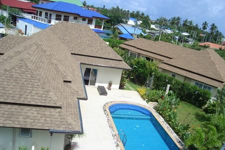 Tropical Brand New 3 Bedroom Furnished Villas With  Pool in Rawai
