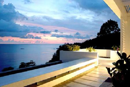 Sea View 3 bed condo for rent minutes from Kamala Beach