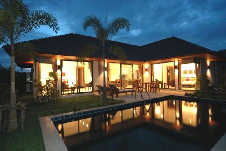 Contemporary 2 Bedroom Holiday Pool Villa for Rent in Rawai, Phuket
