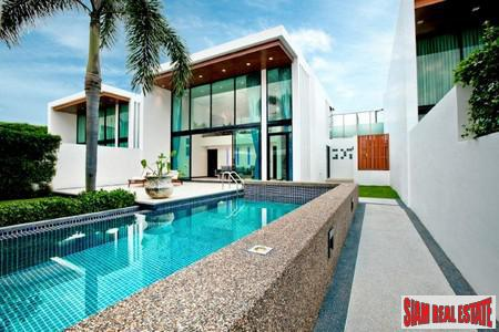 Setting The Luxury Standard For Phang Nga Sea View Villas, 50 meters from the beach