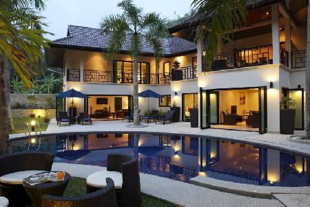 Luxury, Full Serviced Family Holiday Villa Rental, Nai Harn, Phuket