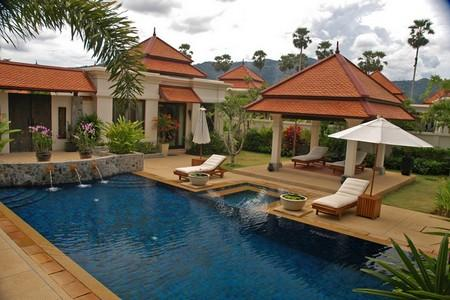 Upscale 4 Bedroom  Private Pool Villa for Long Term  Rent, Laguna Phuket