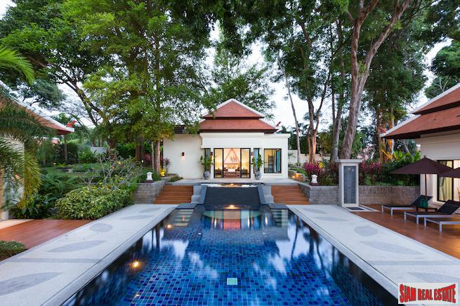 Tailor Made Thai Balinese Style Villas of The Best Quality at Nai Harn, Phuket