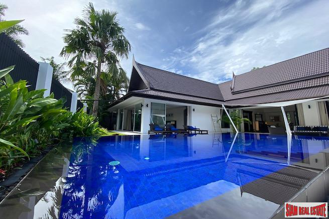 Thai-style luxury-villa on the Fairway! For sale in Kathu, Phuket
